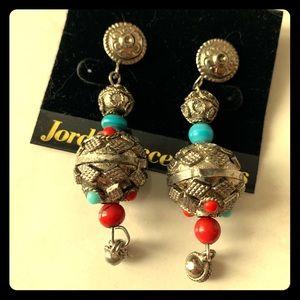 Metal Boho Earrings